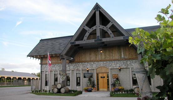 Winery entrance Colio