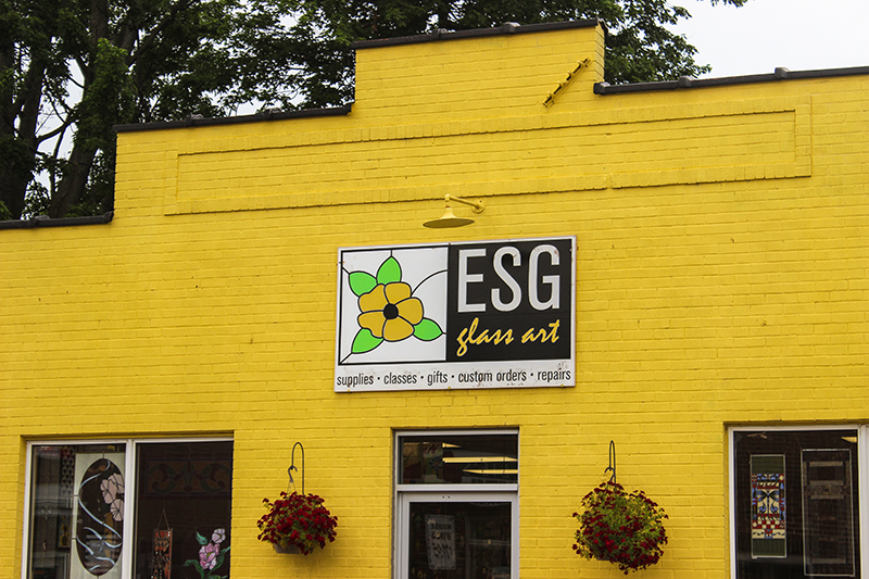 Essex Stained Glass Art Studio logo