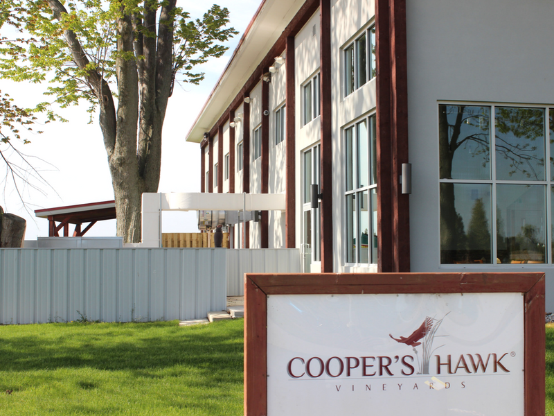 Cooper's Hawk Vineyards logo