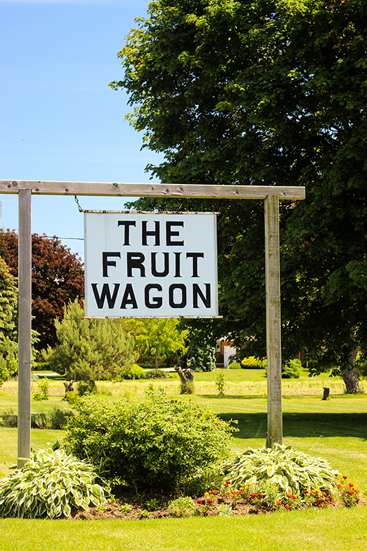 The Fruit Wagon logo