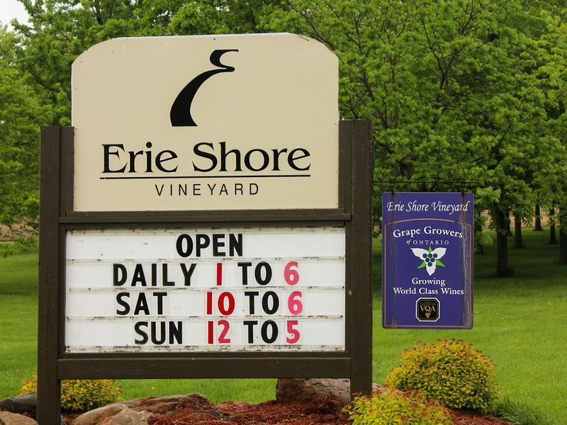 Erie Shore Vineyard logo